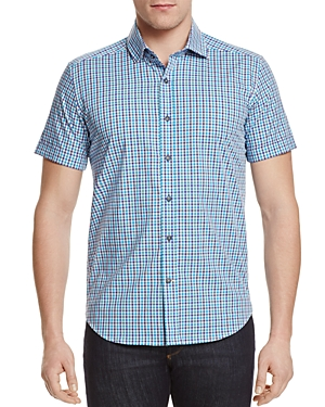Robert Graham Makai Plaid Slim Fit Button-Down Shirt