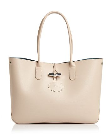 Longchamp Roseau Leather Tote | Bloomingdale's