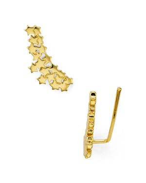 Baublebar Starr Ear Climbers, Set of 2