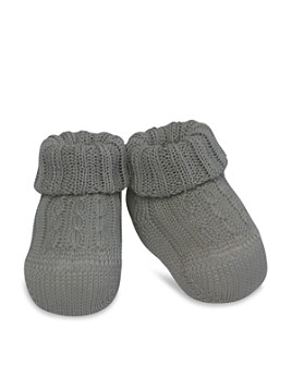 Ralph Lauren - Unisex Cable-Knit Booties - Baby