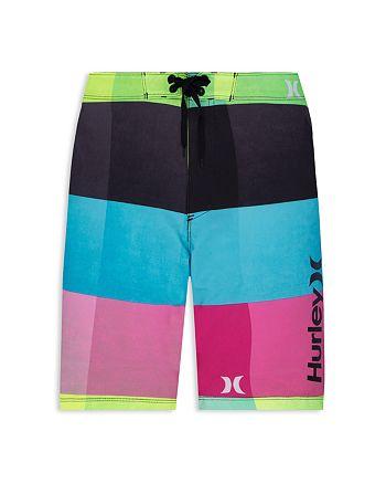 cb153ad5dc732 Hurley Boys' Phantom 30 Kingsroad Board Shorts - Big Kid ...