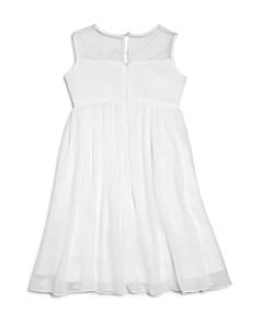US Angels - Girls' Illusion Knot Front Dress - Big Kid