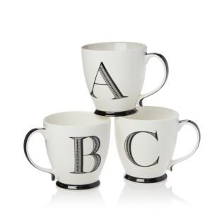 Sparrow & Wren Monogrammed Mug - 100% Exclusive