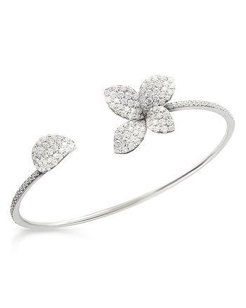 Pasquale Bruni - 18K White Gold Secret Garden Pavé Diamond Cuff