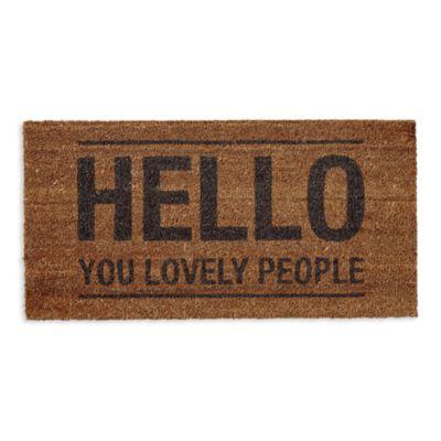 $Bloomingville Coir Hello Doormat - Bloomingdale's