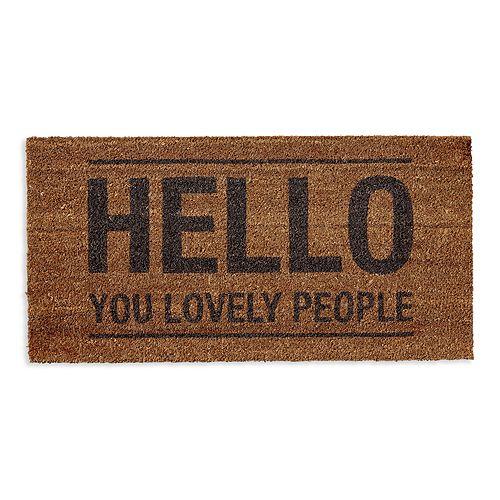 Bloomingville - Coir Hello Doormat