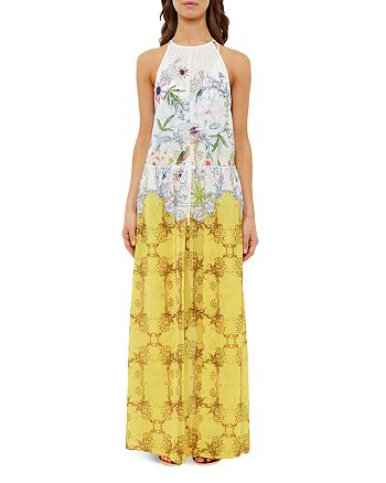 a97a7ab695d2b Ted Baker Passion Flower Maxi Dress Swim Cover-Up | Bloomingdale's