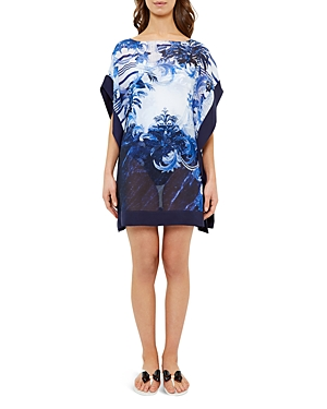 Ted Baker Persian Blue Tunic Swim Cover-Up