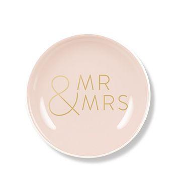Fringe - Mr & Mrs Mini Round Tray