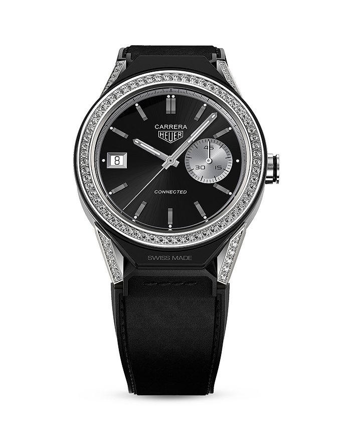TAG Heuer - Connected Modular Diamond Bezel Smartwatch, 45mm