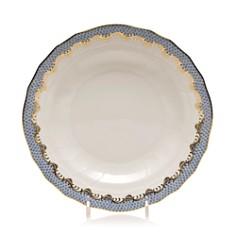Herend - Fishscale Light Blue Dinner Plate