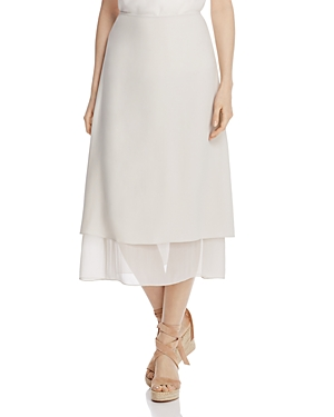Eileen Fisher Layered A-Line Skirt
