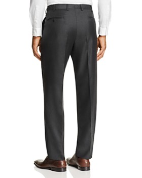 Luigi Bianchi - Solid Twill Classic Fit Dress Pants