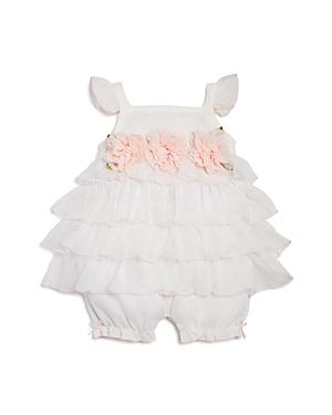 Miniclasix Girls' Ruffled Romper - Baby