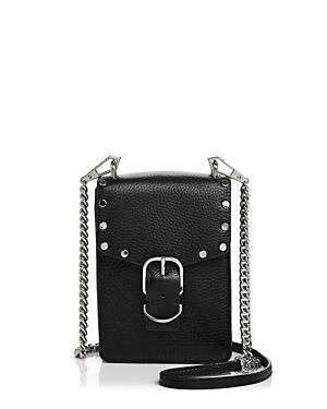Rebecca Minkoff Biker Leather Phone Crossbody