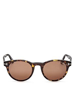 Tom Ford Palmer Round Sunglasses, 50mm