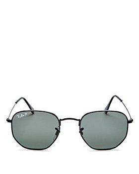 Ray-Ban - Unisex Icons Polarized Hexagonal Sunglasses, 51mm