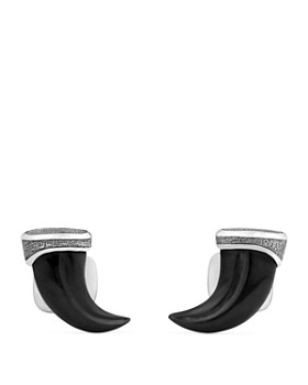 David Yurman - Stone Claw Cufflinks with Black Onyx