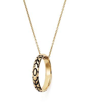 "ICONERY - x Stone Fox Bride 14K Yellow Gold Skull Pendant Necklace, 16"""