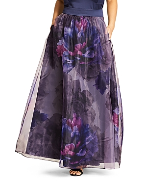 City Chic Majestic Floral Maxi Skirt