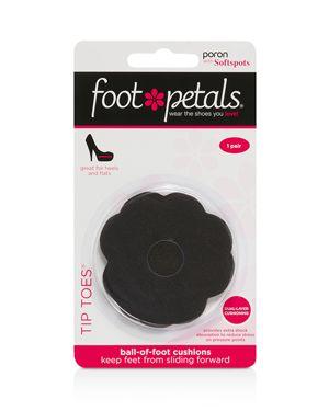 Foot Petals Tip Toes Cushions