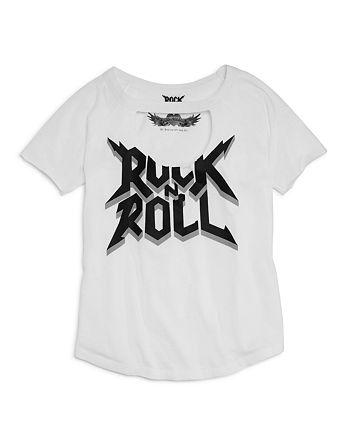 So Nikki... - Girls' Rock N Roll Tee - Big Kid