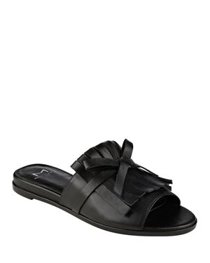 Marc Fisher Ltd. Whitley Kiltie Fringe Slide Sandals