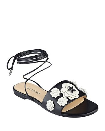 IVANKA TRUMP - Women's Catera Ankle Wrap Sandals
