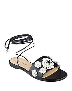 Ivanka Trump Catera Ankle Wrap Sandals