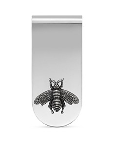 Gucci Sterling Silver Bee Motif Moneyclip - Bloomingdale's_0
