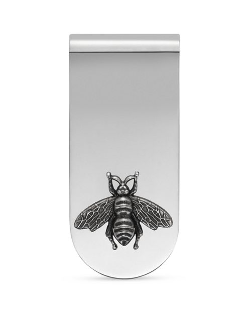Gucci - Sterling Silver Bee Motif Moneyclip