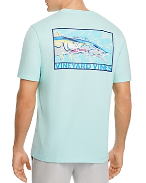 Vineyard Vines Tri-Fish Pocket Tee