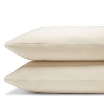 Coyuchi - Organic Cotton Sateen 300TC King Pillowcase, Pair