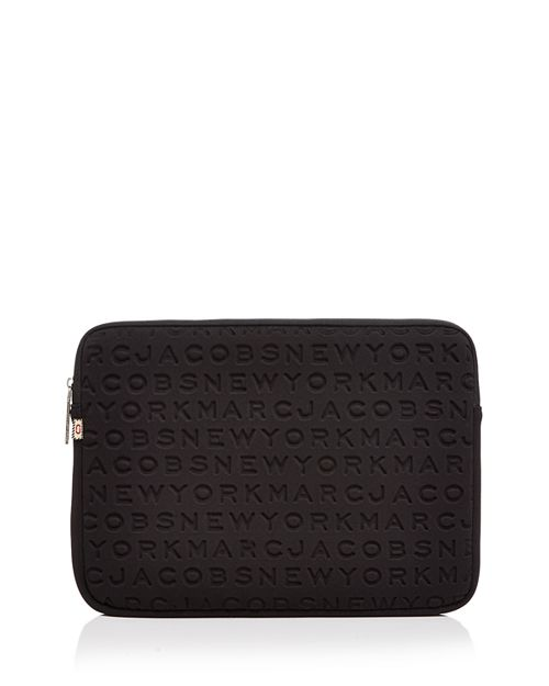 "MARC JACOBS - Logo Tech 13"" Computer Case"