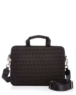 Marc Jacobs Logo Tech Commuter 13 Laptop Case