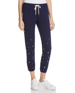 Monrow Silver Stardust Sweatpants - 100% Exclusive