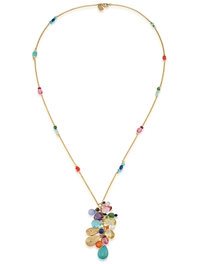 Lauren Ralph Lauren Beaded Pendant Necklace, 32