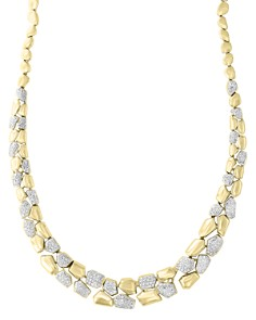 Diamond Pebble Necklace in 14k Yellow Gold, 1.70 ct. t.w. - 100% Exclusive - Bloomingdale's_0