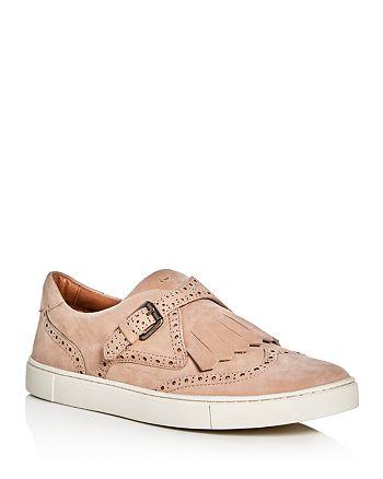 Frye - Women's Gemma Kiltie Brogue Monk Strap Sneakers