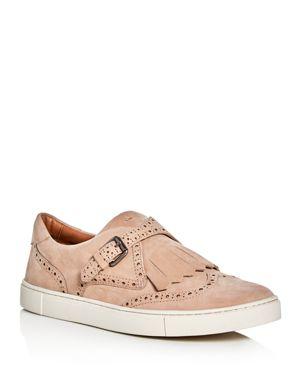 Frye Gemma Kiltie Brogue Monk Strap Sneakers