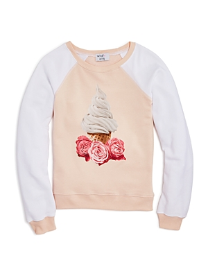 Wildfox Girls' Ice Cream Pullover - Big Kid