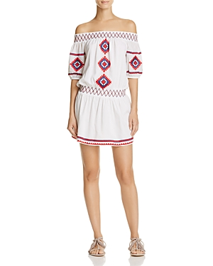 Tularosa Marietta Off-the-Shoulder Dress