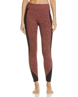 Koral Curve Mixed-Media Leggings