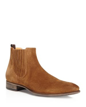 John Varvatos Collection Eldridge Covered Chelsea Boots