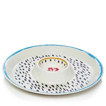 Dansk - Ryden Melamine Chip & Dip - 100% Exclusive