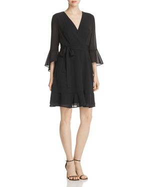 Marled Ruffle Dress - 100% Exclusive