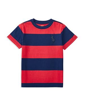 Ralph Lauren Childrenswear Boys' Jersey Stripe Tee - Little Kid
