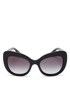 Dolce & Gabbana Cat Eye Sunglasses, 53mm