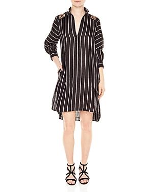 Sandro Cassy Striped Dress