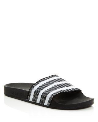 e680c75619c Adidas Originals Women S Adilette Pool Slide Sandals In Black